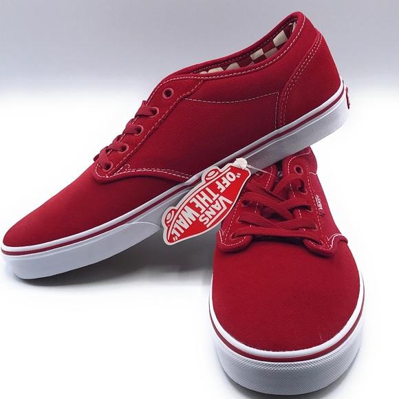 verkkosivusto alennus parhaat hinnat paras laatu Vans Atwood Deluxe Red Skate Men's Shoes Sz12 NWT NWT